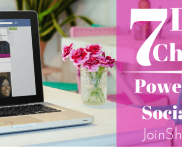 7 Day Challenge- Power Up Your Social Media