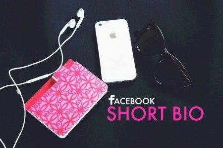 Facebook Short BIO