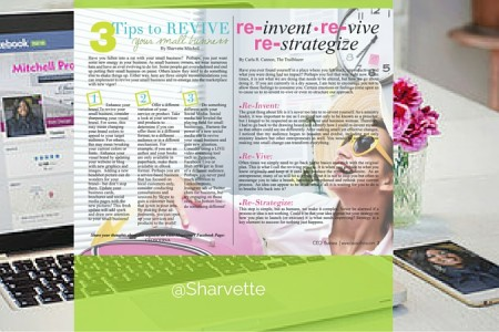 Three tips to REVIVE your small business. CEO Magazine