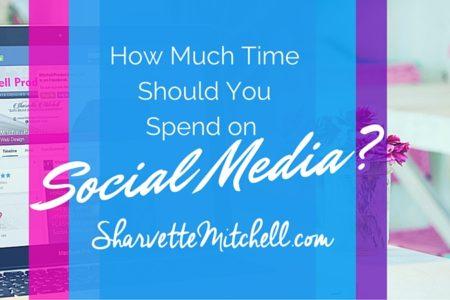 Spending time on Social Media