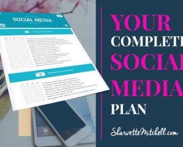 Your Complete Social Media Checklist
