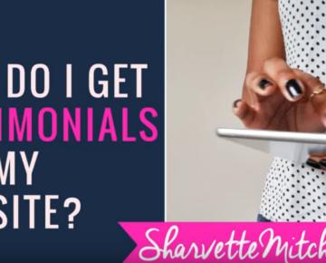 How do I get testimonials for my website?
